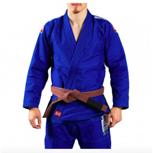 Image of SCRAMBLE ATHLETE 4 KIMONO 450G BLUE