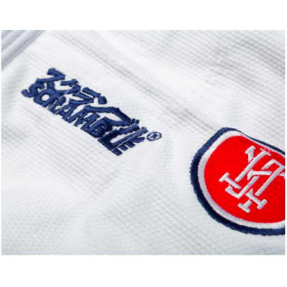 SCRAMBLE ATHLETE V4 450 LADIES BJJ GI WHITE
