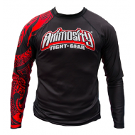 "ANIMOSITY ""TRIBAL2"" RASH GUARD - BLACK"
