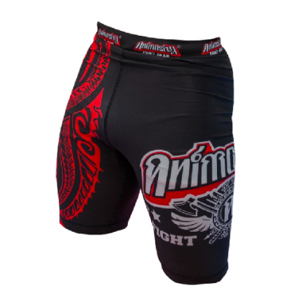 "ANIMOSITY ""TRIBAL2"" COMPRESSION SHORTS - BLACK"