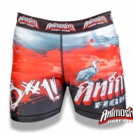 ANIMOSITY B#1! B/R/W COMPRESSION SHORTS