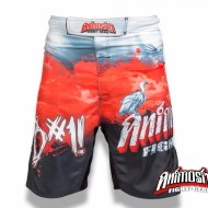 ANIMOSITY B#1! B/R/W MMA FIGHT SHORTS