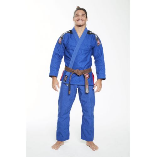 Image of BLUE ATAMA ULTRA LIGHT KIMONO (GI)