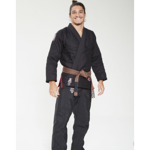 Image of BLACK ATAMA ULTRA LIGHT KIMONO (GI)
