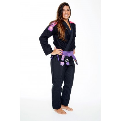 BLACK ATAMA ULTRA LIGHT KIMONO 2.0 (WOMEN)