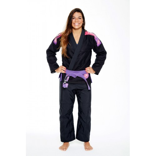 Image of BLACK ATAMA ULTRA LIGHT KIMONO 2.0 (WOMEN)