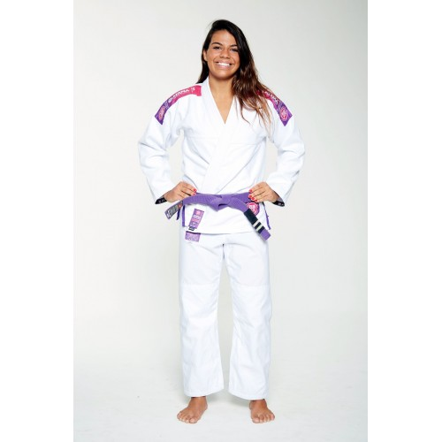Image of ATAMA WHITE ATAMA ULTRA LIGHT KIMONO 2.0 (WOMEN)