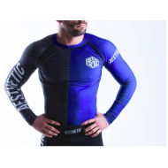 Aesthetic Ranked Rash Guard Blue