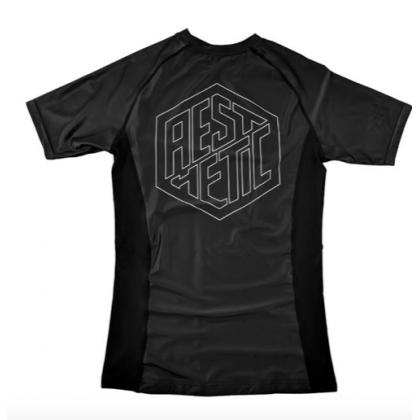 Aesthetic Icon Rash Guard Black