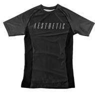 Aesthetic Icon Rash Guard Black