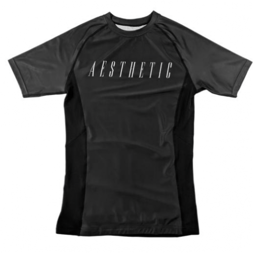 Image of Aesthetic Icon Rash Guard Black