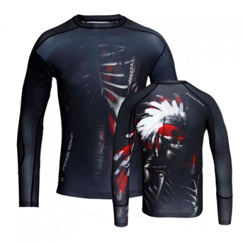 Image of PUNCHTOWN THE APACHE RASHGUARD