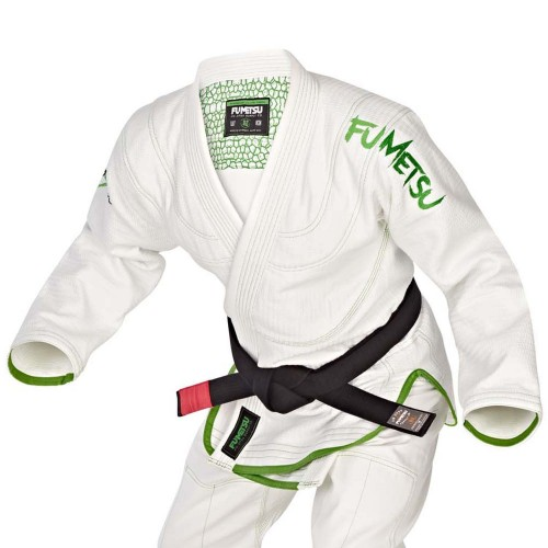 Image of Fumetsu Elements Earth BJJ Gi White