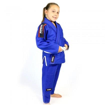 Fumetsu Kids Shield BJJ Gi Blue