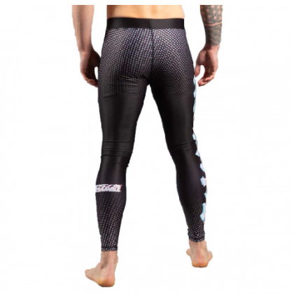 Scramble Glitch Spats Black/White
