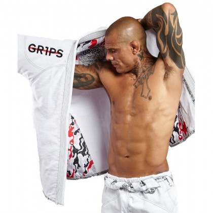 Grips Athletics Armadura 2.0 Camo BJJ Gi White