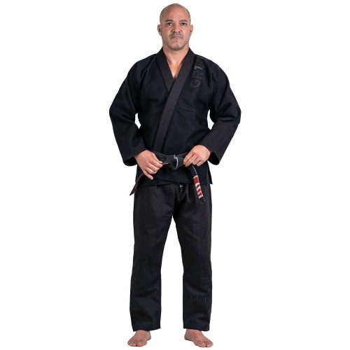 Image of Grips Primero Competition Stealth Edition BJJ Gi Black