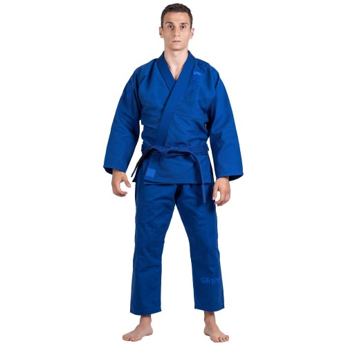 Image of Grips Primero Competition Stealth Edition BJJ Gi Royal Blue