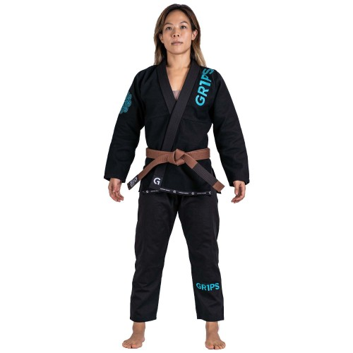 Image of GrIps Primero Competition Woman Edition BJJ Gi Black