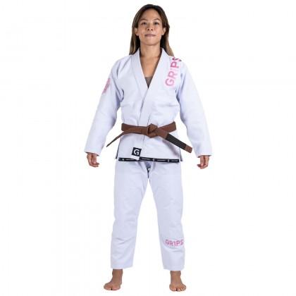 Grips Primero Competition Woman Edition BJJ Gi White