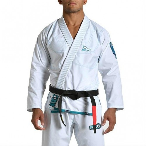 Image of GRIPS ATHLETICS SUPERLIGHT BJJ GI WHITE