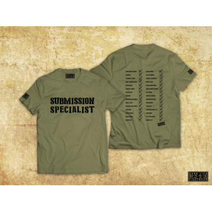 SUBMISSION SPECIALIST T-SHIRT GREEN