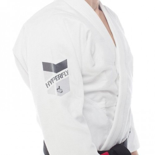 Image of HYPERFLY PRO COMP BJJ GI WHITE