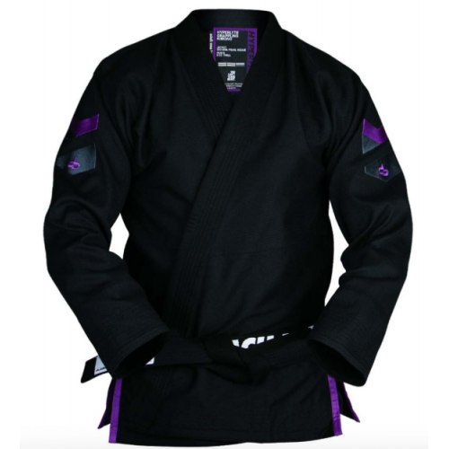 Image of Hyperfly Hyperlyte 2.0 BJJ Gi Black/Purple