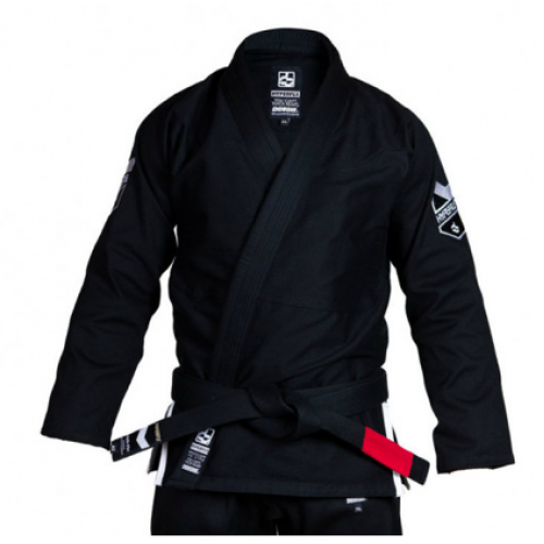 Image of Hyperfly Hyperlyte BJJ Gi Black/White