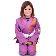 Tatami Meerkatsu Kids Animal Gi - Purple
