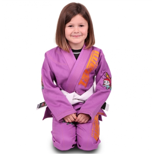 Image of Tatami Meerkatsu Kids Animal Gi - Purple