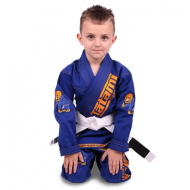 Tatami Meerkatsu Kids Animal Gi - Royal Blue