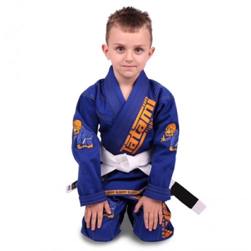 Image of Tatami Meerkatsu Kids Animal Gi - Royal Blue