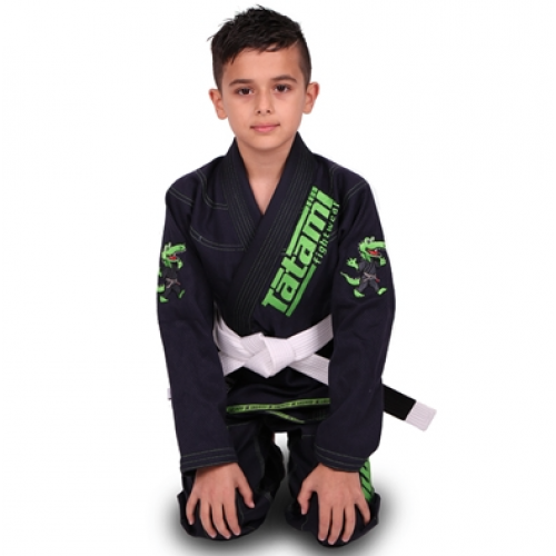 Image of Tatami Meerkatsu Kids Animal Gi - Navy