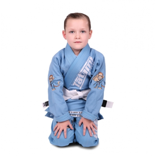 Image of Tatami Meerkatsu Kids Animal Gi - Sky Blue