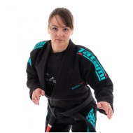 Tatami Ladies Estilo Black & Teal Gi