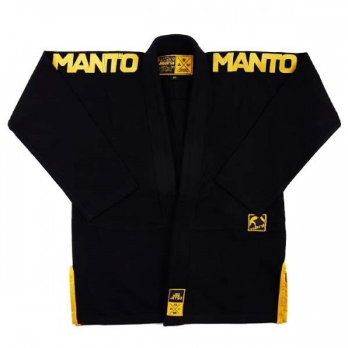 Image of MANTO X3 BJJ GI BLACK