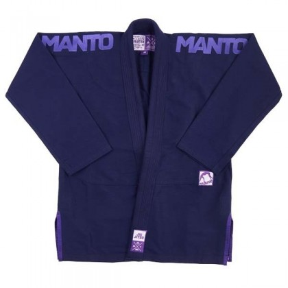 MANTO X3 BJJ GI NAVY BLUE