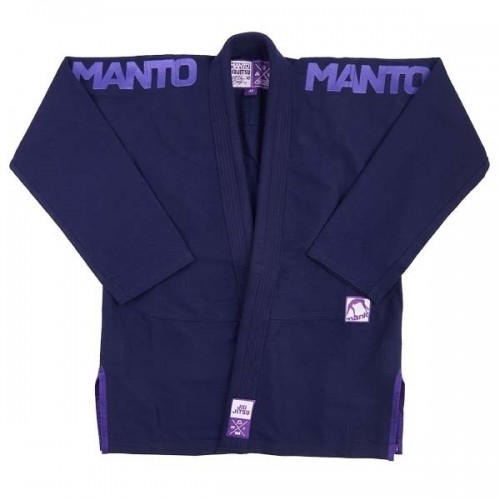 Image of MANTO X3 BJJ GI NAVY BLUE