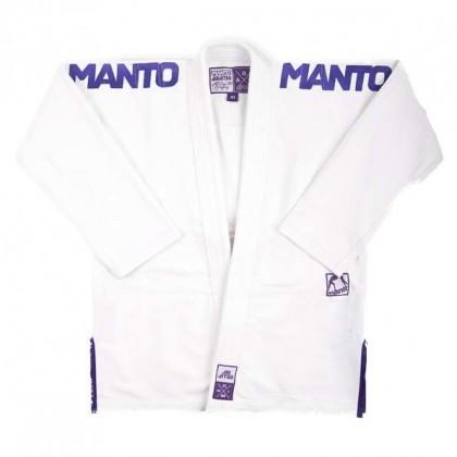 MANTO X3 BJJ GI WHITE