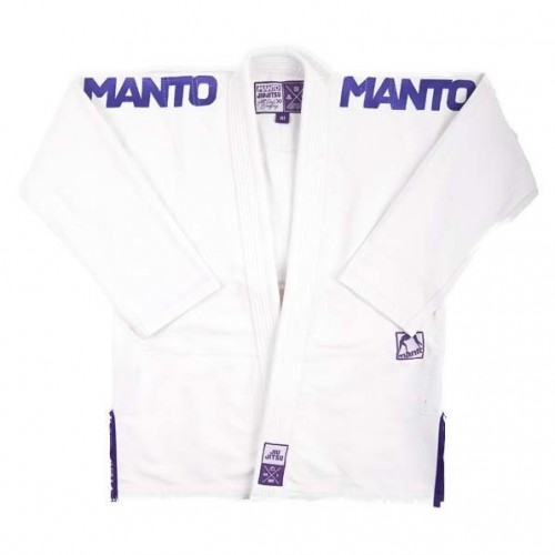 Image of MANTO X3 BJJ GI WHITE