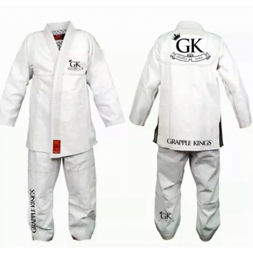 Image of Grapple Kings BJJ Gi White