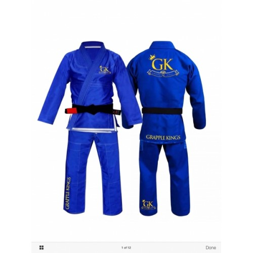 Image of Grapple Kings BJJ GI - Blue