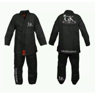 GRAPPLE KINGS BJJ GI BLACK