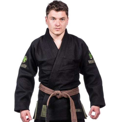 Image of TATAMI Tank 950GSM Double Weave - Black