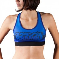 Scramble MMA Ladies Sports Bra Blue