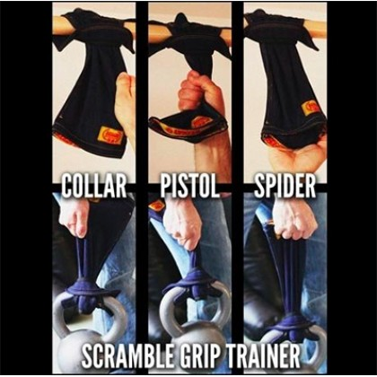 Scramble Grip Trainers - One Size White