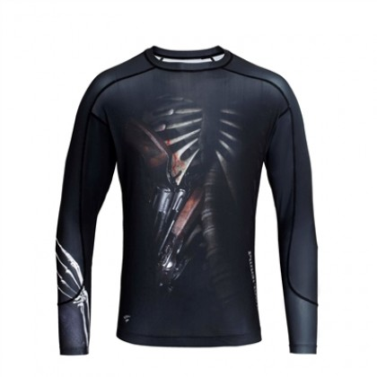 PUNCHTOWN THE OUTLAW RASH GUARD