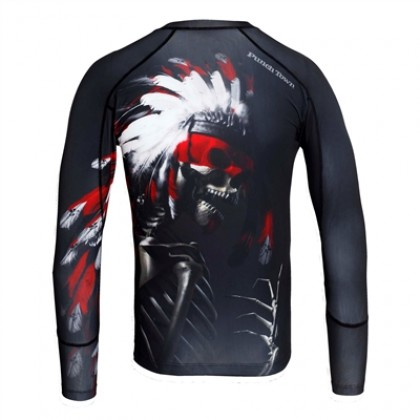 PUNCHTOWN THE APACHE RASHGUARD