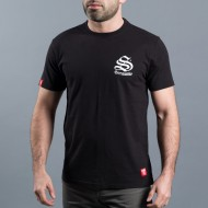 SCRAMBLE INNER CITY JIU-JITSU T-SHIRT – BLACK